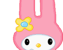 My melody Pixel by EvelynRegly