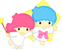 Little Twin Stars Pixel by EvelynRegly