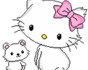 Charmmy and Bear Kitty Pixel by EvelynRegly