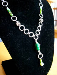 Celtic Jewels Necklace by SilveredGriffin