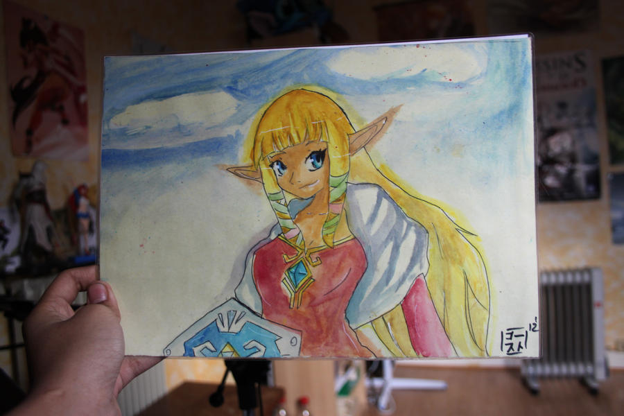 La galerie de Fantom Zelda_by_steeveclm-d4kyxie