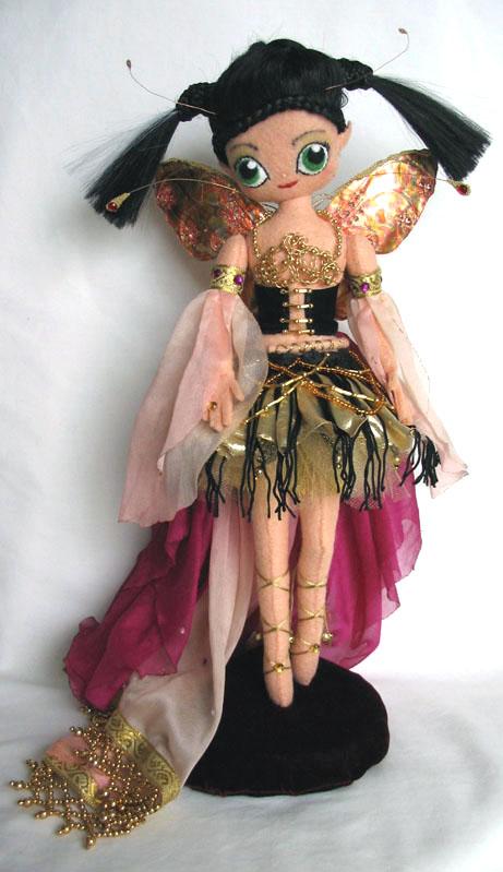 Felt Fairy Doll - front