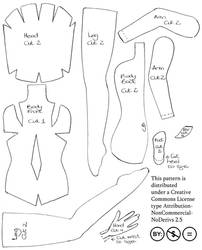 Felt Fairy Doll - pattern by impetere