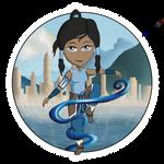 Avatar Korra by KaiyaAquamarine