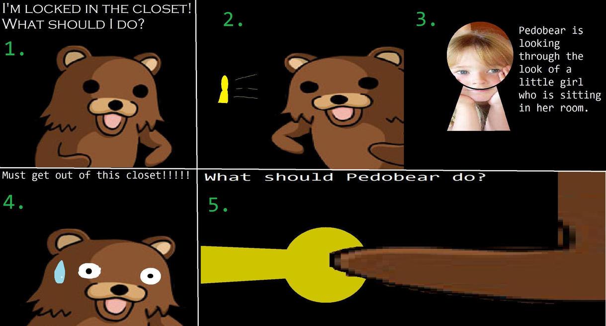 Pedobear Locked In The Closet By Metalgriffen69 On Deviantart