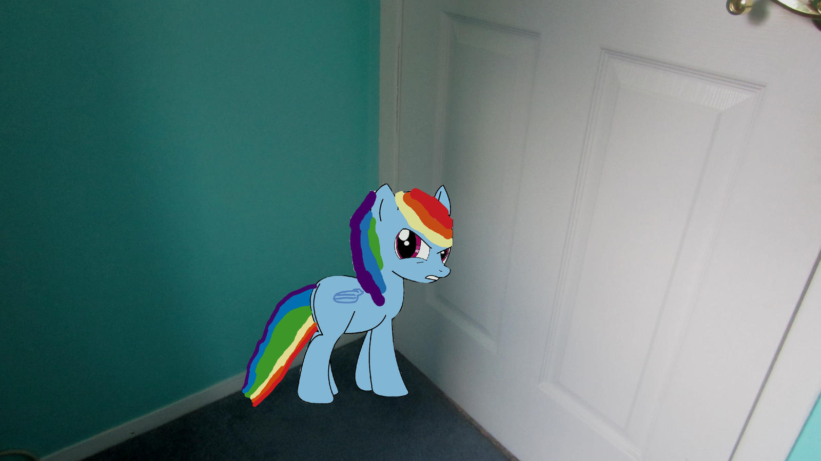 Rainbow Dash in Time out by MetalGriffen69. Rainbow Dash in Time out by MetalGriffen69 on DeviantArt