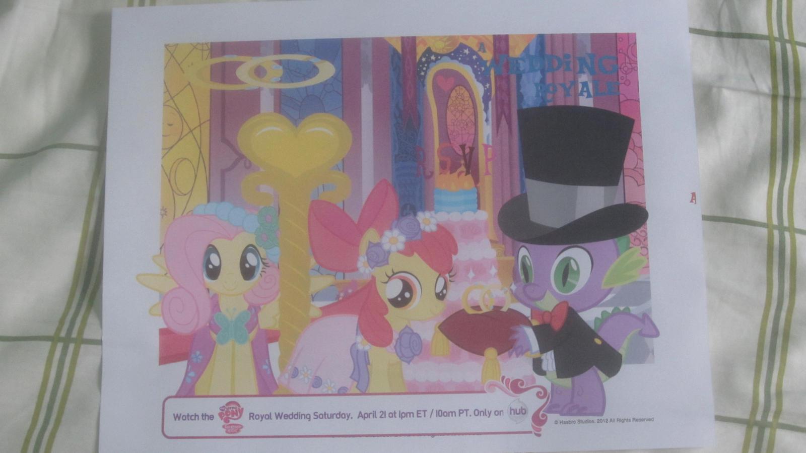 My little pony royal wedding invitation card by MetalGriffen69. My little pony royal wedding invitation card by MetalGriffen69 on