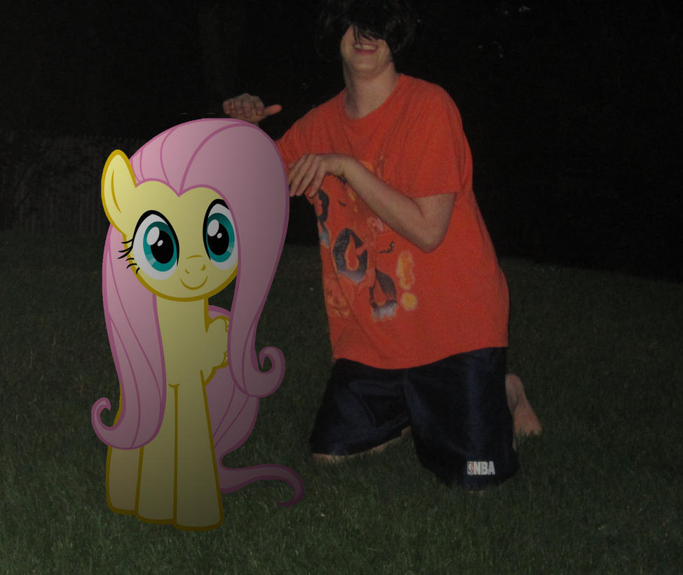 Me and Fluttershy by MetalGriffen69. Me and Fluttershy by MetalGriffen69 on DeviantArt