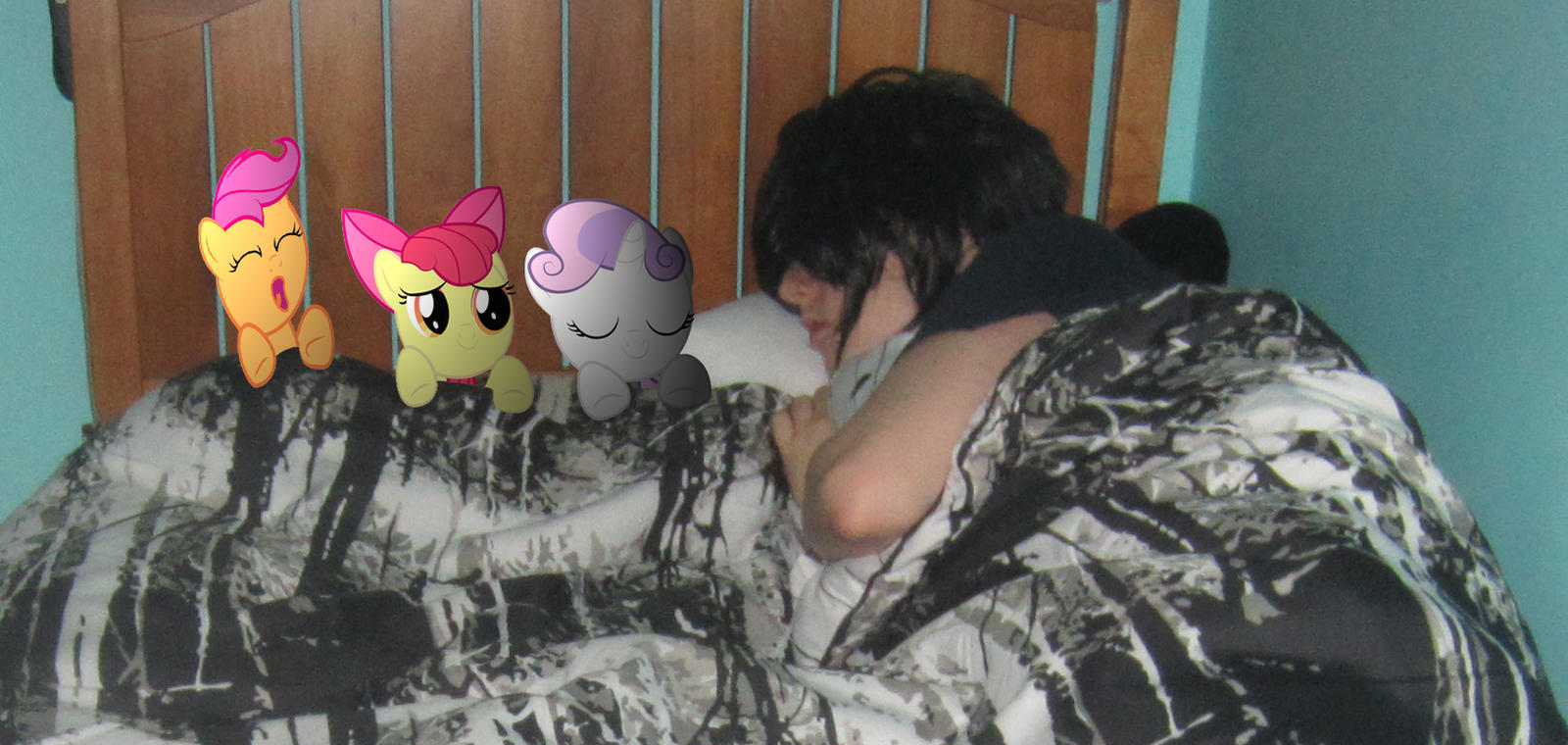 Sleeping with the CMC by MetalGriffen69 Sleeping with the CMC by  MetalGriffen69. Sleeping with the CMC by MetalGriffen69 on DeviantArt