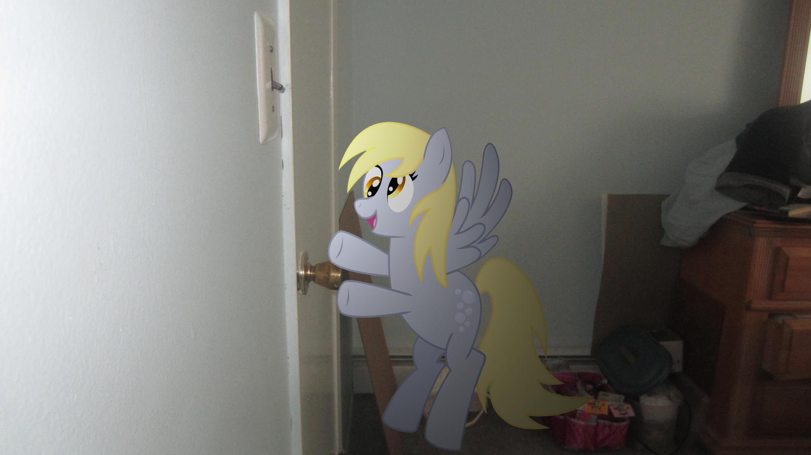 The door is locked Derpy by MetalGriffen69. The door is locked Derpy by MetalGriffen69 on DeviantArt