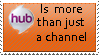 The hub channel is pure gold by MetalGriffen69