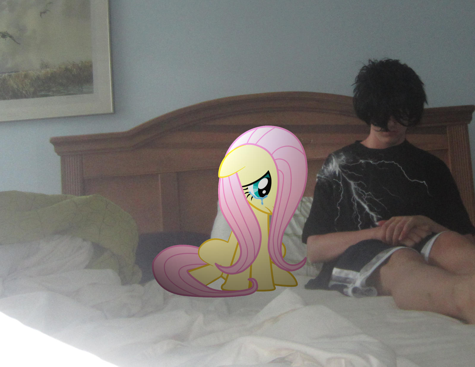 Me and Fluttershy sad by MetalGriffen69 Me and Fluttershy sad by  MetalGriffen69. Me and Fluttershy sad by MetalGriffen69 on DeviantArt