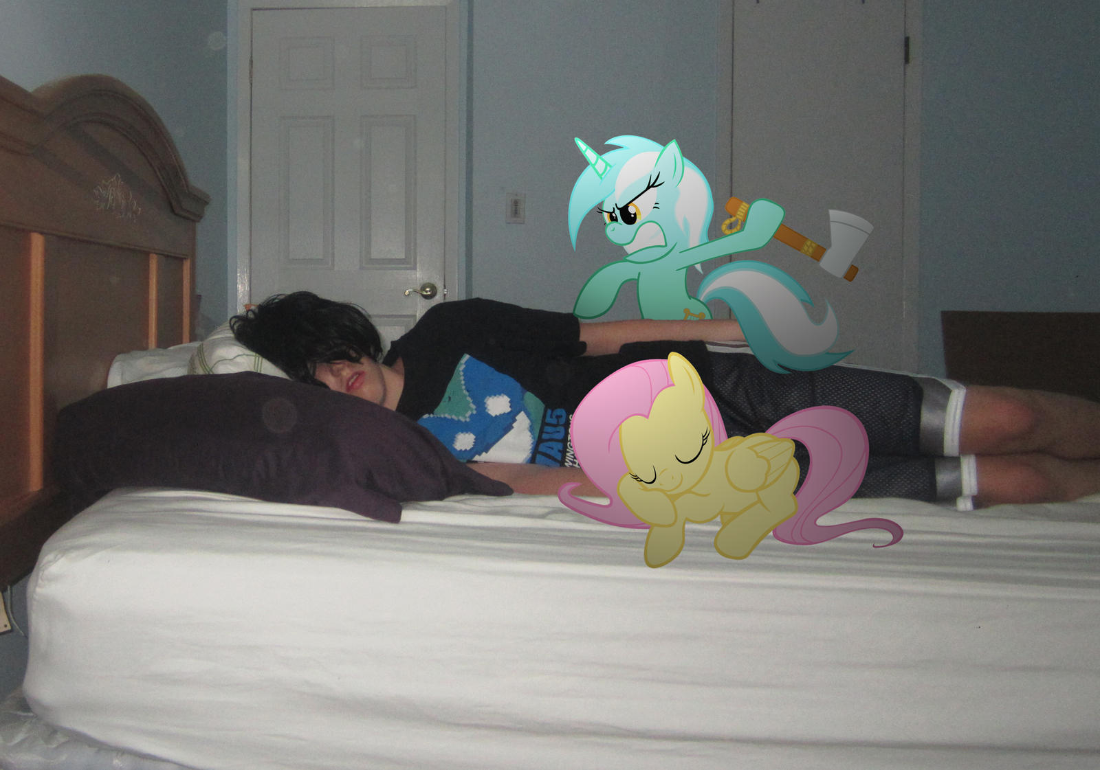 Lyra wants to kill me   by MetalGriffen69. Me kissing Fluttershy by MetalGriffen69 on DeviantArt