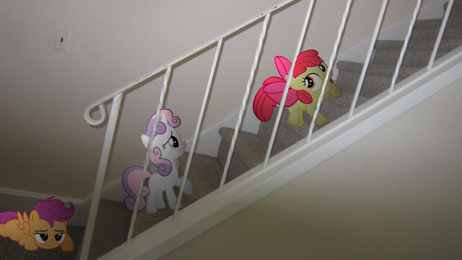 Trying to get up the stairs by MetalGriffen69. Trying to get up the stairs by MetalGriffen69 on DeviantArt