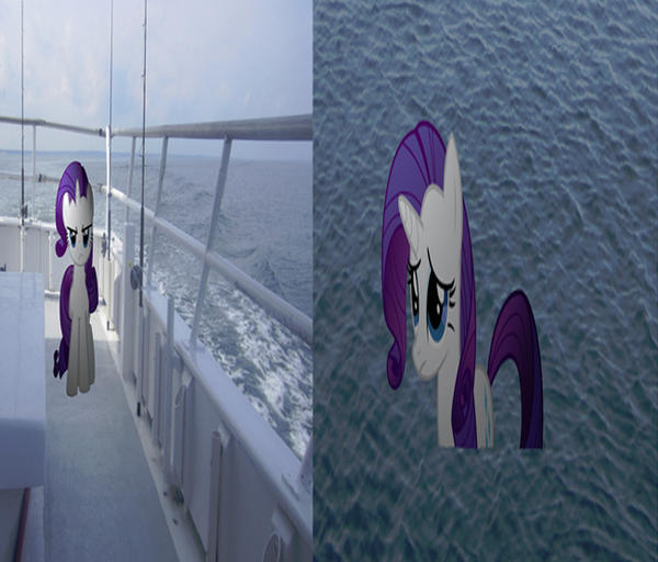 Rarity gets thrown into the water by MetalGriffen69. Rarity gets thrown into the water by MetalGriffen69 on DeviantArt