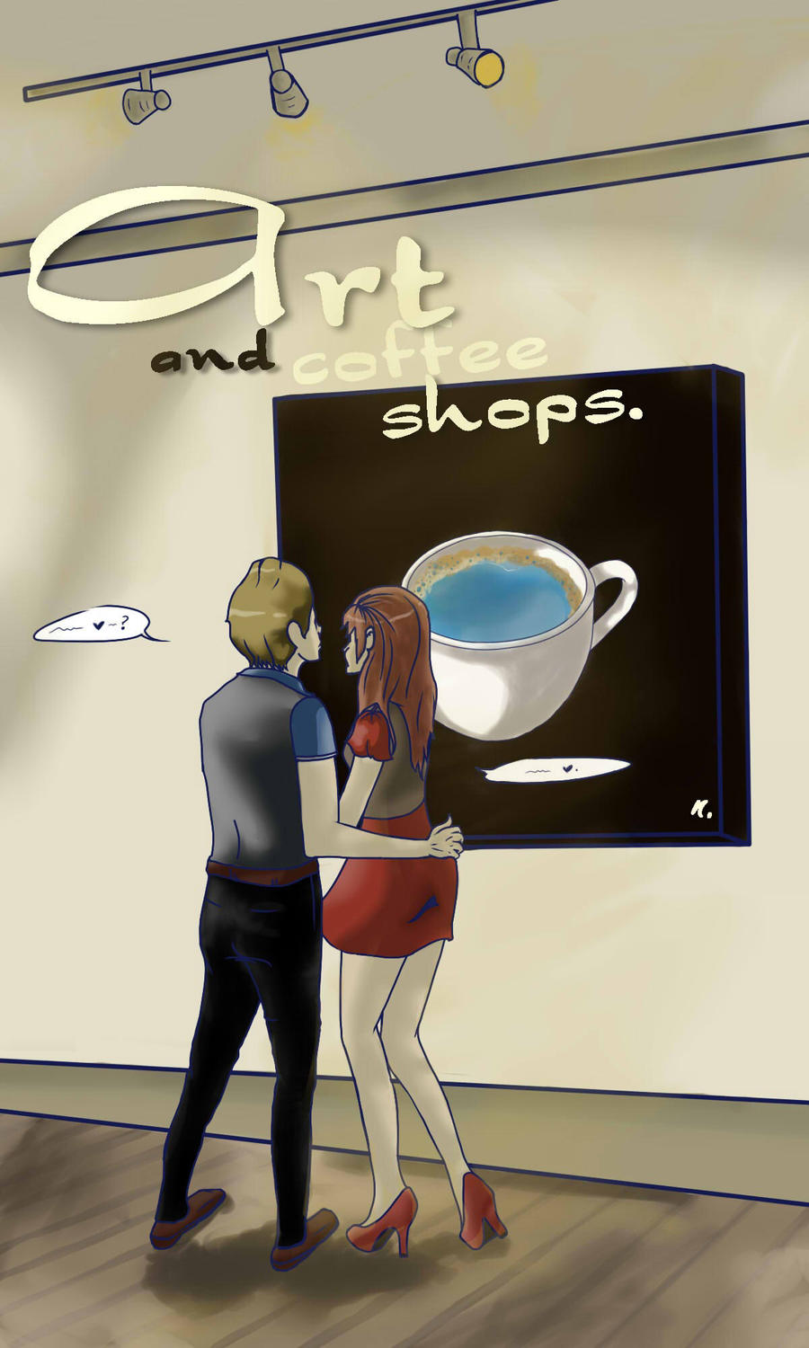 Art and Coffee Shops Cover by CatchingFear