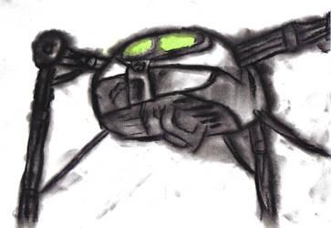 Alien Tripod by Gibson-the-mallrat