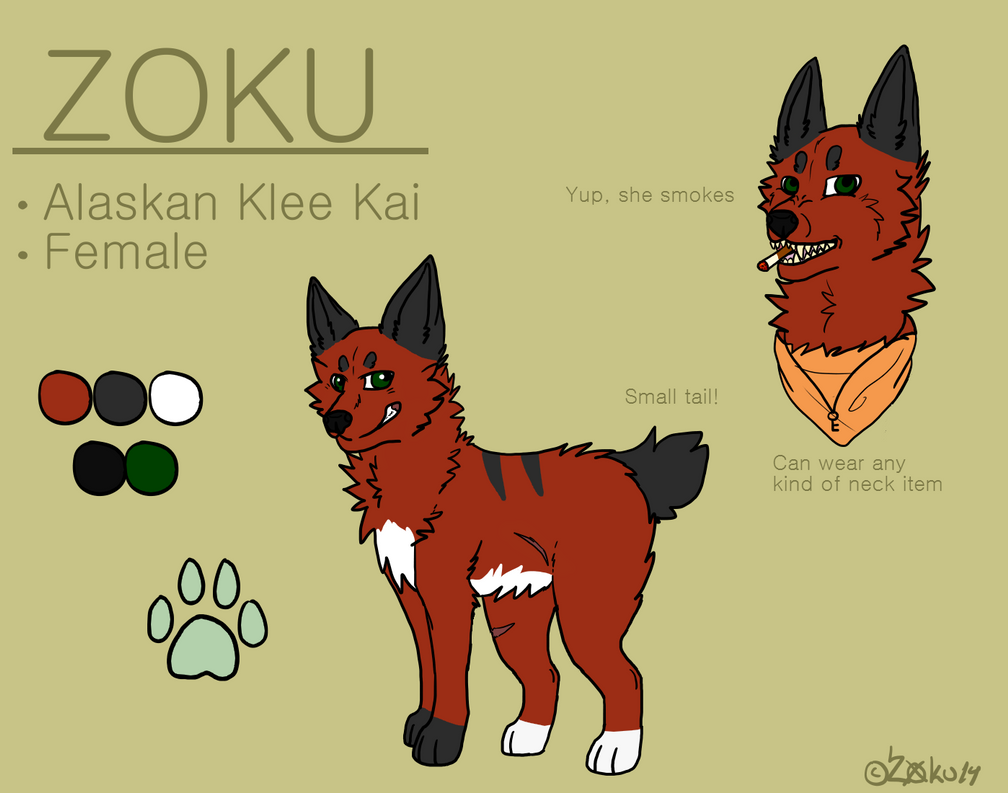 Z0KU [Reference Sheet] by ZokuChoco