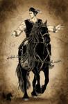 The master of horses by Tarakas