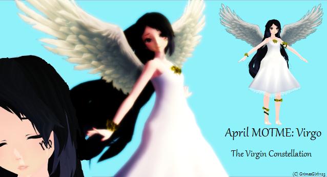 ~April MOTME : Virgo, the Virgin Constellation ~ by GrimesGirl123