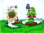 Link and Okami