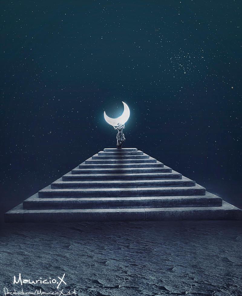Moon by MauricioX
