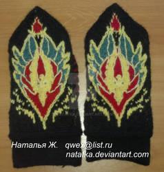 Blood Elf mittens