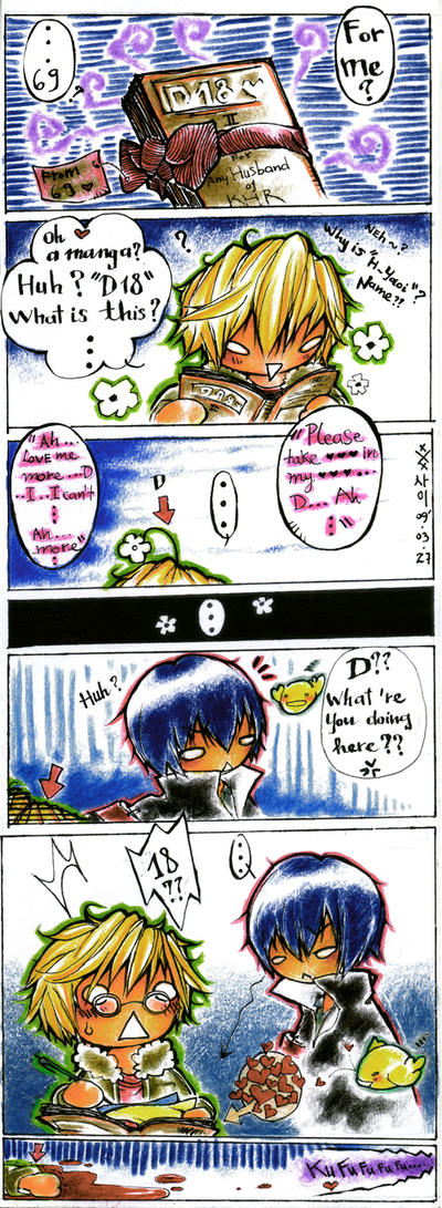 Doujinshi KHR- Hard Yaoi D18 by xxxsai