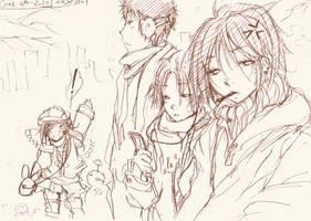 Sketch-Winter come soon... by xxxsai
