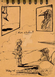 Ptica - Parody_The Little Prince - page 2