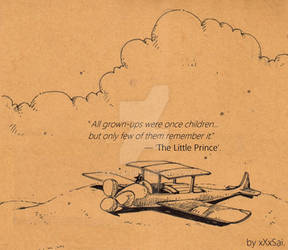 Ptica - Parody_The Little Prince - page 0