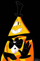 bill cipher by MistyPancakez