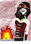 Gloria, Gas Mask, and Bioshock