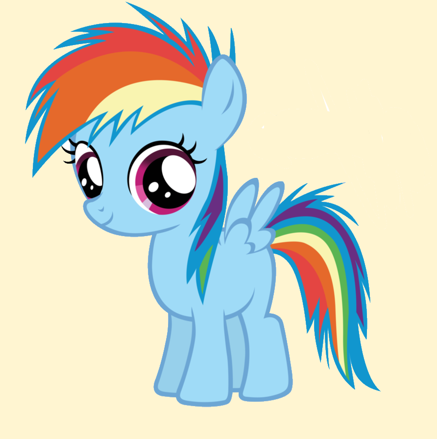 Baby Rainbow Dash Png Baby Rainbow Dash by Dioxib