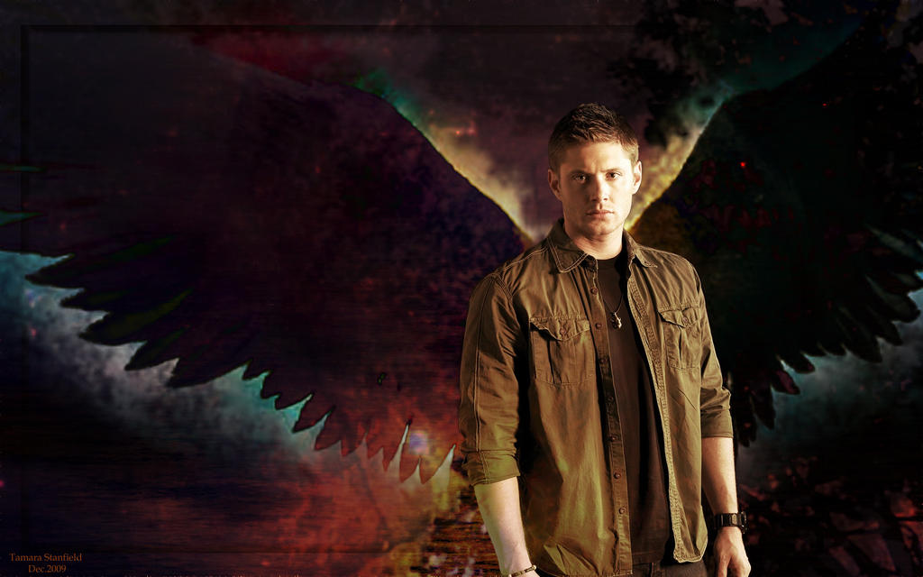Supernatural dean angel