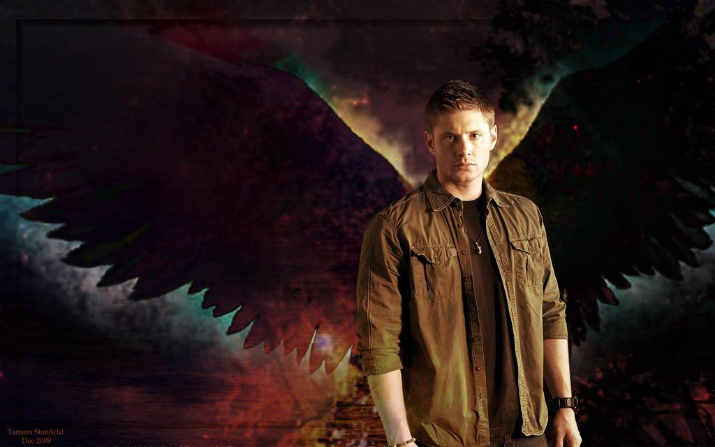 Supernatural dean angel
