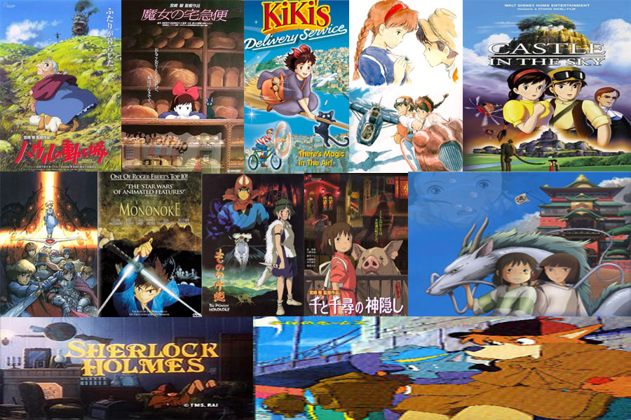 the combination of themes in the movies of hayao miyazaki Hayao miyazaki is probably one of my all time favorite movie directors in the world and here's why he creates amazing fantasy worlds one of the most iconic feature about miyazaki's films (ghibli and it's predecessors) is the world that the audience gets to immerse in.