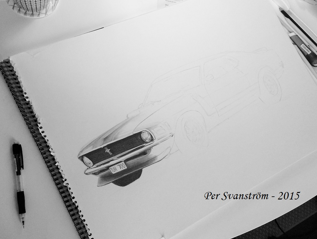 Making Mustang Step 2 by Per-Svanstrom