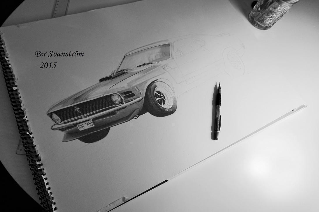 Mustang Boss 302 - Step 4 by Per-Svanstrom