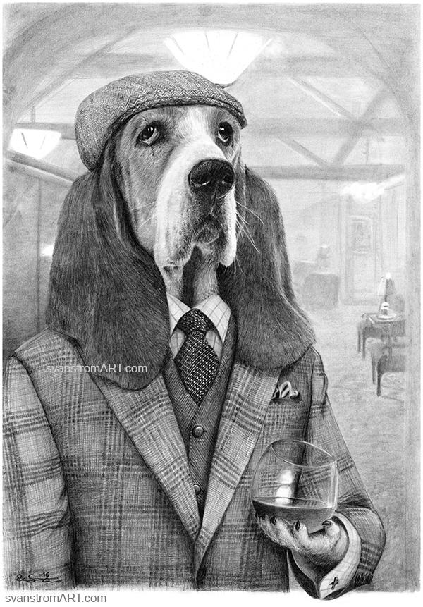 Mr Basset by Per-Svanstrom
