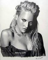 Jessica Alba by Per-Svanstrom