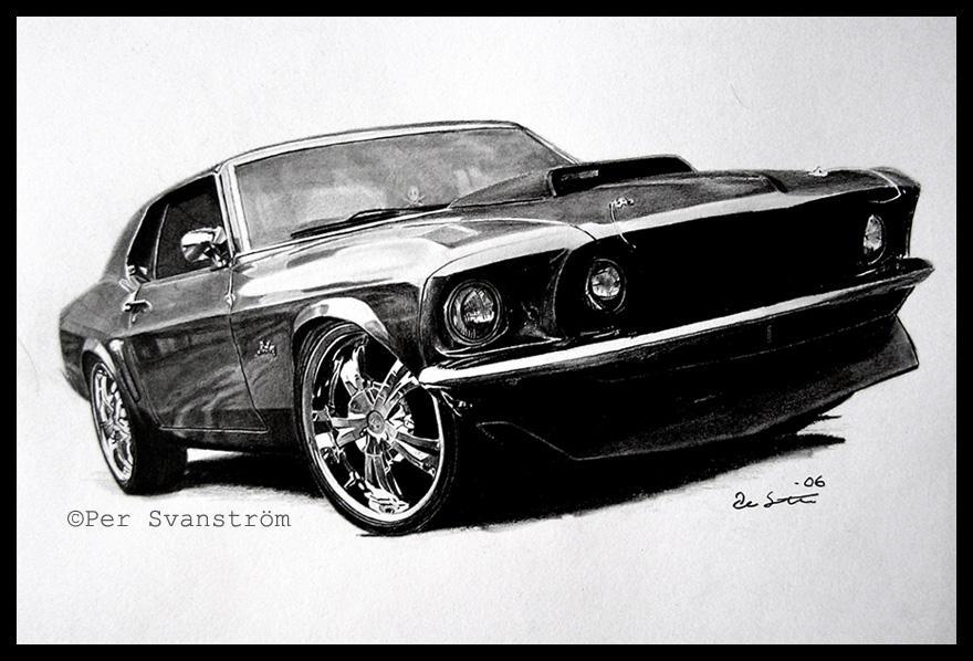 Skvelé auto nakreslené skvelo :)