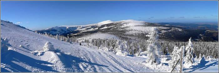 Snowy Trail by gshegosh
