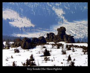 Trzy swinki -The Three Piglets by gshegosh