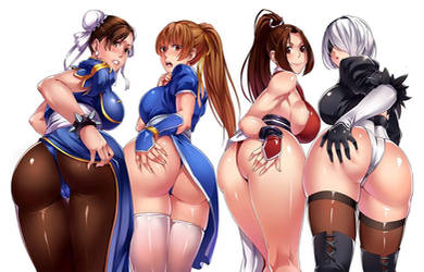 Game Girls by lilhima