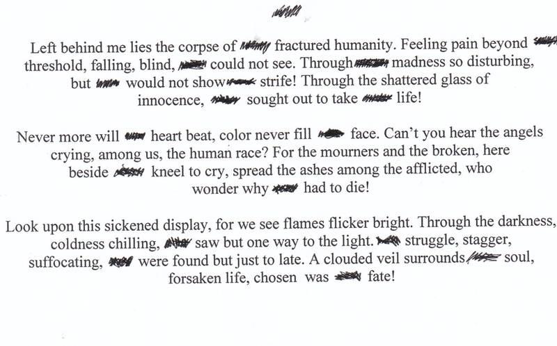 A tragic poem... by ShizaCoffee