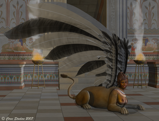 The Sphinx's Smile by MissCirce
