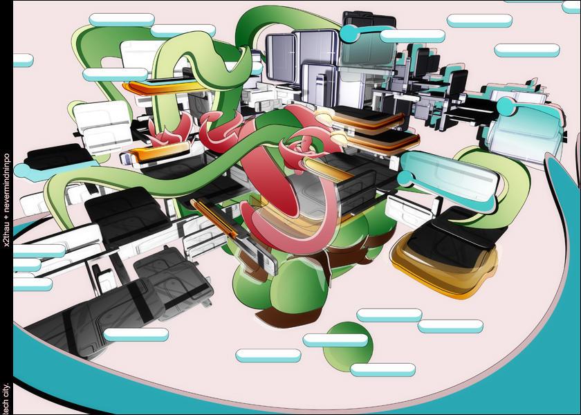 tech city by X2thaU