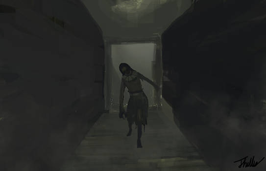 Layers of Fear Woman