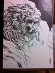 draw a tiger with Live Paint